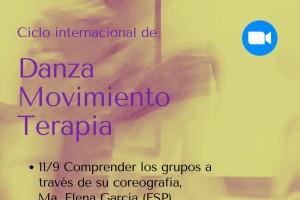 Ciclo internacional sobre  Danza Movimiento Terapia