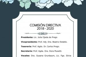 Comisión Directiva 2018 - 2020