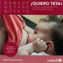 D' Oliveira, Nora. ¡Quiero teta! : Cómo amamantar con confianza. Montevideo : UNICEF, 2019. (Donación Unicef).