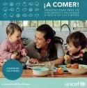 Bove, María Isabel. ¡A comer! : orientación para un crecimiento saludable a partir de los 6 meses. Montevideo : UNICEF, 2019. (Donación Unicef).